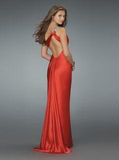 2011 Style Sheath / Column One Shoulder Sleeveless Floor-length Elastic Woven Satin  Bridesmaid / Evening Dresses / Prom Dresses
