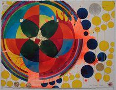 Color Works on Paper - Max Gimblett Nz Art, Shape Art, Geometric Shapes, New Zealand, Zen, It Works, Museum, Abstract, Paper
