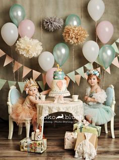 Koko Blush Styled Tea Party