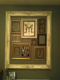 "Old and new. ""Reclaimed frame"""