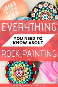 How to Paint Rocks Beginner's Guide Series, you'll discover the joys of rock painting and gain confidence in your artistic ability. Mandala Art, Mandala Rocks, Mandala Painting, Pebble Painting, Dot Painting, Pebble Art, Stone Painting, Painting Tips, How To Start Painting