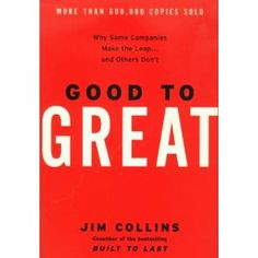 Good to Great.   #Leadership #business #book    Read the free book summary here: http://www.actionablebooks.com/summaries/good-to-great/