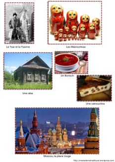 La Russie et Baba Yaga en maternelle