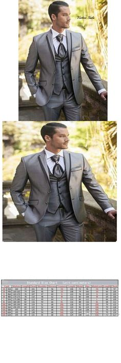 Gray Groom Tuxedos Groomsman Suit Italian Style three-Piece Wedding Prom Party Suits For Men Bridegroom Suit