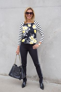 Transitioning into spring with FLorals, Stripes and Fringe on the blog today featuring our Black and Ivory Asymmetrical Cardigans and our fun Floral Print Tee with Stripe sleeve. . ALL FEATURED ITEMS ARE PART OF OUR 24-HR FLASH SALE GET 15% OFF WITH CODE FS27 PLUS FREE US SHIPPING www.jacketsociety.com