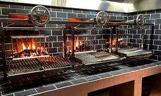 wood burning grill in restaurant design - Google Search