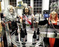 'Star Trek' Suds: Canadian Company Boldly Brews a Klingon Ale. << OMG! XD