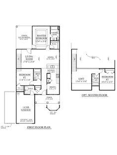 1000 images about empty nest house plans on pinterest for Empty nest floor plans