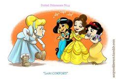 Pocket Princess Comic 52 | Pocket Princesses - disney-princess Fan Art