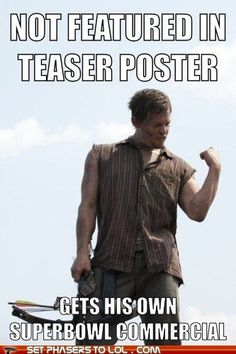 Daryl Dixon Walking Dead zombies