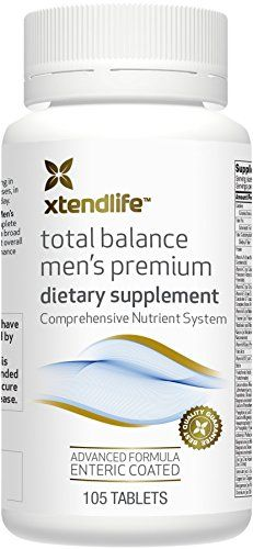 XtendLife Total Balance Mens PREMIUM Multivitamin  Multinutrient Supplement for AntiAging  General Health 105 Enteric Coated Tablets >>> Click image for more details.  This link participates in Amazon Service LLC Associates Program, a program designed to let participant earn advertising fees by advertising and linking to Amazon.com.