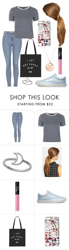 """Untitled #683"" by leftorright ❤ liked on Polyvore featuring Topshop, Midsummer Star, Ficcare, NARS Cosmetics, Vans, Marc Jacobs and Kate Spade"