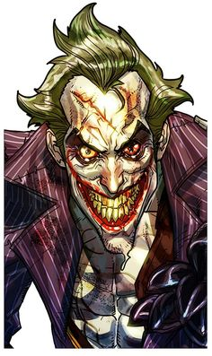 View an image titled 'Joker Face Art' in our Batman: Arkham City art gallery featuring official character designs, concept art, and promo pictures. Face Characters, Comic Book Characters, Comic Character, Comic Books Art, Comic Art, Fictional Characters, O Joker, Joker Face, Joker And Harley Quinn