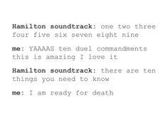 CAST RECORDING but yes, so sad so true