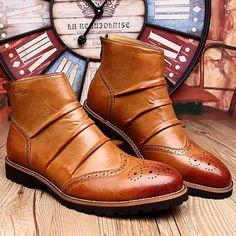British Fashion Short Ankle Boots