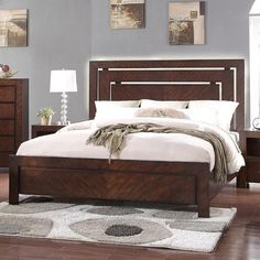 City Lights Queen Panel Bed by Legends Furniture at VanDrie Home Furnishings Bed Headboard Design, Bedroom Bed Design, Bedroom Furniture Design, City Furniture, Headboards For Beds, Bed Furniture, Bedroom Decor, Street Furniture, Cheap Furniture
