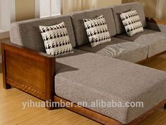Bedding set for your full sized bed - Elites Home Decor Wooden Couch, Wood Sofa, Couch Sofa, Sofa Furniture, Living Room Furniture, Furniture Design, Furniture Dolly, Furniture Movers, Living Room Sofa Design