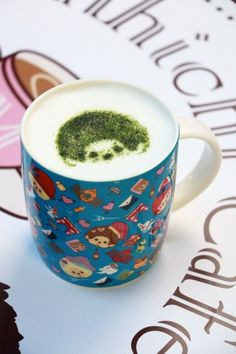 Monchhichi Pop-up Café Pop Up Cafe, Mugs, Tableware, Dinnerware, Tumblers, Dishes, Mug, Cups