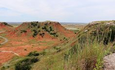 Gloss Mountain State Park, Oklahoma - By Brian D. Elkins