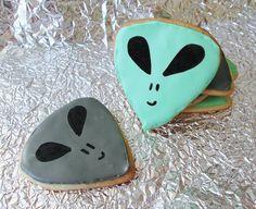 X-Files Alien Cookies