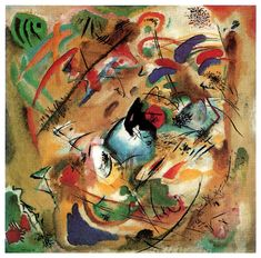 Improvisation (Dreamy) by @artistkandinsky #abstractart