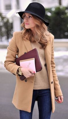 #street #style fall / camel