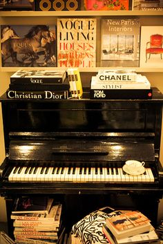 I think that is a ship's piano, and it rules. My piano was significant in my life.  So is our family's (Joel's) and so are each of the pianos in our children's homes.  Music is one of the very best memories.  K.W.