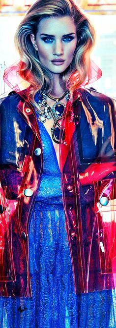 Editorial Glamour/karen cox....Rosie - Vogue Mexico November 2014