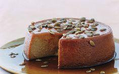 IMAGES SWEET PUMPKIN DESSERTS | Pumpkin Flan with Spiced Pumpkin Seeds