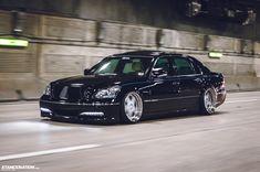Gio's Lexus LS430.
