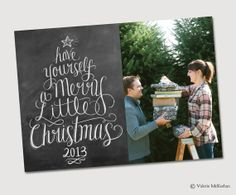 Have Yourself A Merry Little Christmas Digital by LilyandVal, $25.00