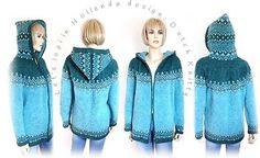 Let's lopi in Holland® Design by Dutch KnittyAlle details over het gebruikte garen en de naalddikte kun je terug vinden op de ravelryprojectpagina van dit vest. Door op de blauw gedrukte woorden te kl
