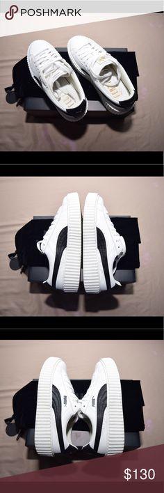 Selling this FENTY Puma Creepers White Leather on Poshmark! My username is: jawrell. #shopmycloset #poshmark #fashion #shopping #style #forsale #Puma #Shoes