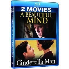 A Beautiful Mind   Cinderella Man Double Feature (Blu-ray) $5.82