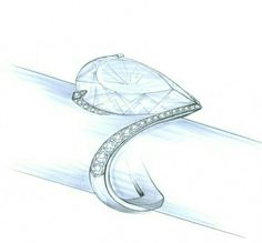 de Beers. ring sketch...♡