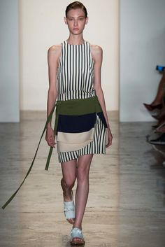 Peter Som Spring 2015 Ready-to-Wear Fashion Show - Lera Tribel