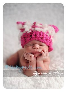 A little part of me hopes I have a girl so I can put her in cute hats like this one <3