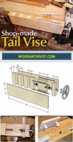 Shop Made Tail Vise - Workshop Solutions Projects, Tips and Tricks | WoodArchivist.com