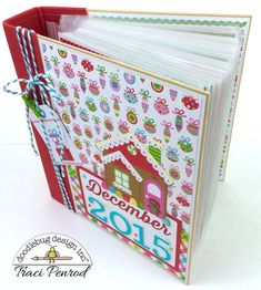 Doodlebug Design Inc Blog: Sugar Plum Collection: December Daily Project by Traci Penrod