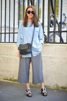 Pin for Later: Le Meilleur du Street Style Vu à la Fashion Week de Paris Paris Fashion Week, Jour 5