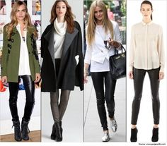 What to wear with those black leggings | Style guide