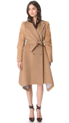 LIKE WHOA! Boy. by Band of Outsiders Camelhair Trench Coat