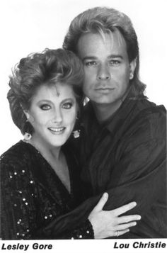 Lesley Gore and Lou Christie.