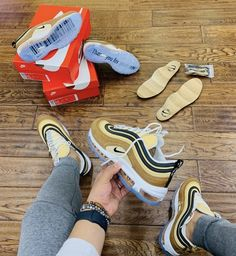 huge selection of cdc88 5b09a NIKE AIR MAX 97 CLEAR SOLE Air Max 97, Nike Air Max