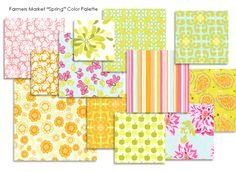 Farmer's Market 'Spring' Palette by Sandi Henderson Designs...so pretty!