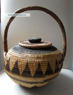 1980s Buka basket from the Mt Hagen Highlands of Papua New Guinea