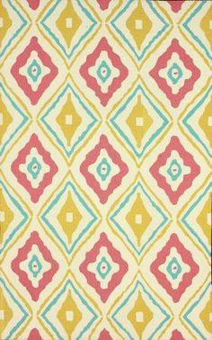 Designer rugs at 60% off! Rugs USA Homespun Trellis HK115 Pink Rug