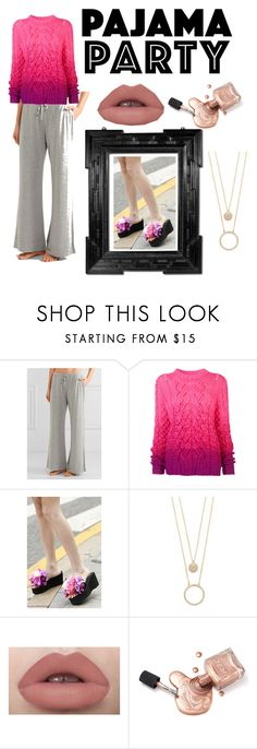 """""""Pj lover"""" by iamkritika ❤ liked on Polyvore featuring Skin, Spencer Vladimir, Linda Horn and Kate Spade"""