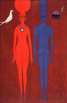 'The Couple'. Monte Carlo, Art Fauvisme, Maurice De Vlaminck, Raoul Dufy, European Paintings, Inspiration Art, Dutch Painters, Post Impressionism, Greek Art