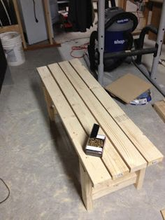 Deck Bench - Step by Step